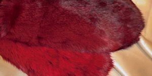 Červené rukavičky – pár